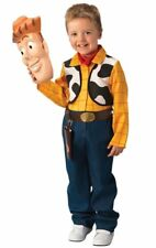 Licensed Toy Story Boys Deluxe Woody Costume Genuine Rubies - New
