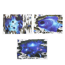 Blue 3D Galaxy Decors as Floor/Wall Stickers Removable Art Decal Mural Beautiful