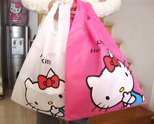 Women Girl Hello Kitty Foldable Travel Light Pouch Organiser Shopping Carry Bag
