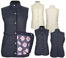 Ladies Champion Country Estate Press Stud Closure Quilted Gilet Bodywarmer
