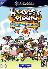Harvest Moon: Magical Melody Nintendo GameCube Tested Works Nice
