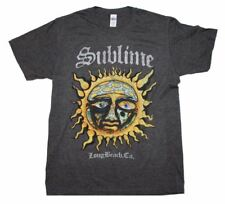 NEW Officially Licensed Sublime Logo Stamp Sun Soft T-Shirt Rock Band