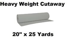 Exquisite Embroidery Machine CUTAWAY Stabilizer Backing  20'' x 25 Yards