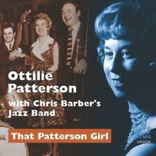 Patterson,Ottilie/Chris Barber - That Patterso (NEW CD)