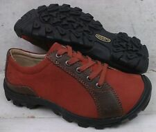 Keen Womens Sister Lace Rust Leather Oxfords Athletic Shoes 1009315 size 6.5 M