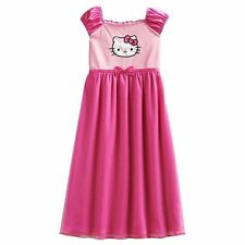 NEW Girls *4-5* or *6** HELLO KITTY Dress Up Princess Gown Nightgown Pink PJs