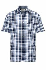 Pack of 2 Champion Mens Dornoch 100% Cotton Country Casual Short Sleeved Shirt