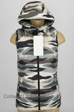 NEW LULULEMON The Fluffiest Vest 2 4 Cashew Coast Camo 650 Goose Down FREE SHIP