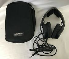 Bose A20 General Aviation Electronic Noise Cancelling Headset With Case - 45-2A