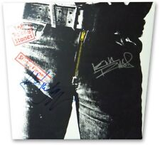Mick Jagger Keith Richards Signed Autographed Album Cover Rolling Stones 857814