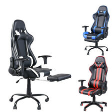 High Back Racing Office Chair Recliner Relax Gaming Executive Computer Ergonomic