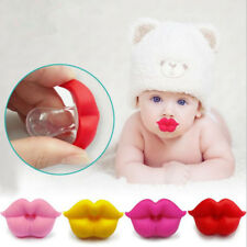 Baby Infant Pacifier Kiss Lips Dummy Pacifiers Silicone Nipple Teether Soother