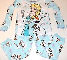 New Disney Frozen Elsa and Olaf pajamas girls sizes 2t 3t 4t 5t Frozen pajamas
