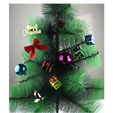 XMAS Christmas Tree Bowknot Small Bell Decor Ornament Party Hanging Decoration