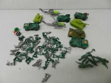 70 pc Lot Miniature Plastic Army Soldiers, Vehicles, Tanks, Helicopters, etc.