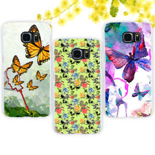 Butterfly Phone Protective Plastic Case Cover for Samsung S7 Edge S8 Plus NEW