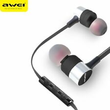 Awei ES-20TY In-Ear Earphone 3.5mm Jack Headphone Super Bass Headset With Mic