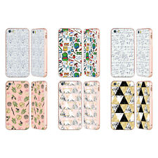 JULIA BADEEVA ASSORTED PATTERNS 3 GOLD SLIDER CASE FOR APPLE iPHONE PHONES