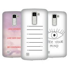 OFFICIAL EFTY QUOTATION HARD BACK CASE FOR LG PHONES 3