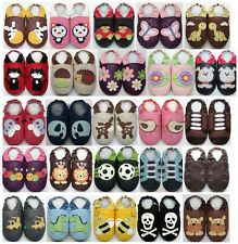 24-36 months US 9-10 Minishoezoo Slippers soft sole Leather baby Boy Girl Shoes