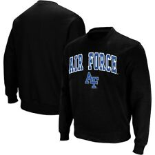 Air Force Falcons Colosseum Arch & Logo Crew Neck Sweatshirt - Black