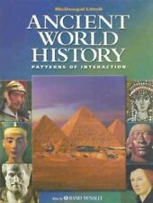 Ancient World History: Patterns of Interaction MCDOUGAL LITTEL Hardcover