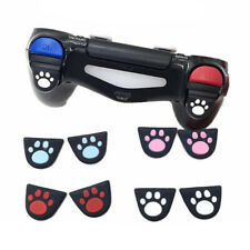 Cat Paw Silicon Trigger Buttons Sticker for PS4 Controller L2 R2 Button Cover