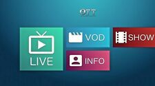 ONE YEAR IPTV subscription Europe,Arab,Latino,USA,India,VOD,and More