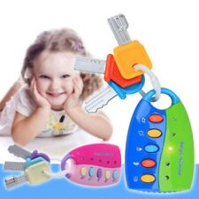 Baby Musical Smart Remote Car Key Car Toy Voices Pretend Play Education Toys Hot