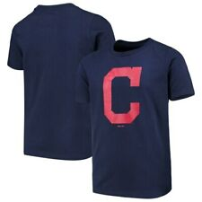 Cleveland Indians Youth Primary Team Logo T-Shirt - Navy