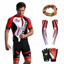 Cycling Jersey Set Short Sleeve Bicycle Wear Clothing MTB Sportswear Quick Dry C