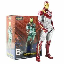 New Hot Toy Avengers Super Hero Mk47 Iron Man Movie Figurine PVC Action