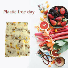 Beeswax Food Wrapping Paper Assorted 3 Packs Environmentally Friendly Reusable