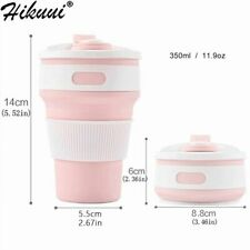 Hot Folding Silicone Cup Portable Silicone Telescopic Drinking Collapsible Coffe