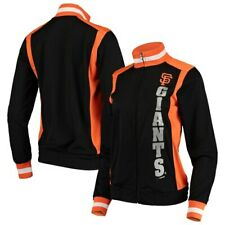 San Francisco Giants G-III 4Her by Carl Banks Women's On Deck Full-Zip Track