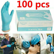 100X Disposable Medical Gloves Surgical Nitrile POWDER LATEX FREE Non Sterile
