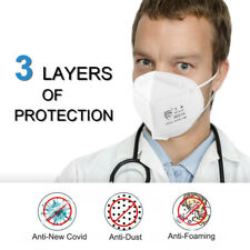 10/50X Face Coer Mouth Respirator Personal Protection Breath Anti Pollution