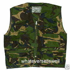 KIDS CAMO ASSAULT VEST combat army military childs DPM