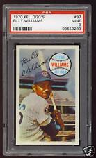 1970 BILLY WILLIAMS Chicago Cubs HOF Kelloggs #37 - PSA 9 (MINT)