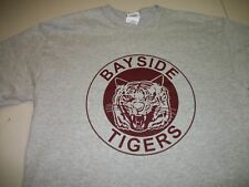 SAVED BY THE BELL BAYSIDE TIGERS T SHIRT GRAY TEE A