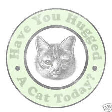 Hugged a Cat Today Vintage Cat Lover Funny T-shirt