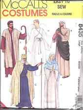 8435 UNCUT McCalls Pattern Adult Bible Costumes King Angel Christmas Easter OOP