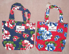 Hollister Classic Floral Beach Tote Bag Purse  New