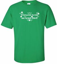 Everyone Loves An Irish Girl Short-Sleeve T-Shirt