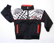 Enyce Signature Black & Red Mesh Lined Zip Front Hooded Wind Jacket Boys NWT
