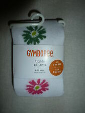 Gymboree SPRING SOCIAL White Pink Green Daisy Flower Tights NWT Baby Girl Easter