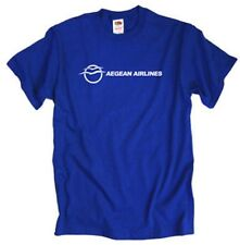 Aegean Airlines Greek Retro Logo Airline T-Shirt