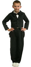XMAS NEW YEAR TAILCOAT BOYS GIRLS VICTORIAN EDWARDIAN FANCY DRESS COSTUME 5-7