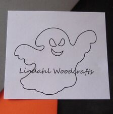 Sneaky Ghosts Unfinished Flat Wood Shapes SG90048