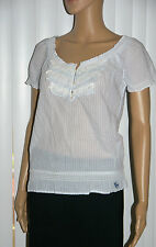 Abercrombie Kids Girls Classic Peasant Blouse Top Shirt Sz XL 2 colors NWT